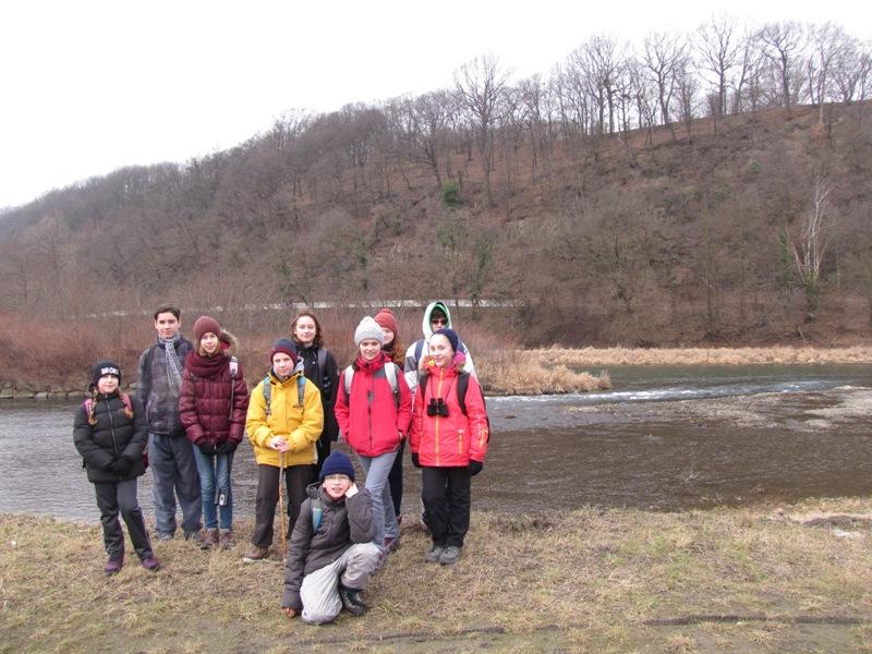 výprava u soutoku Ostravice a Odry