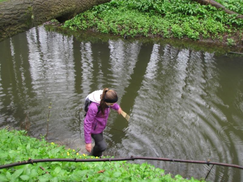 průzkum vodou